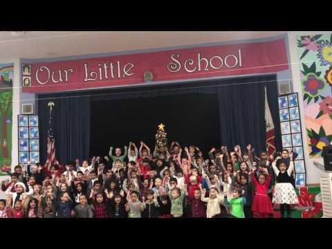 Beethoven Street Elementary School - Kindergarten Winter Program