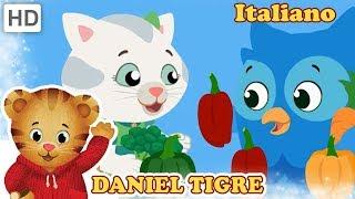 Daniel Tiger in Italiano 🍝🍴 I Bambini Mangiano Cibo Sano | Video per Bambini
