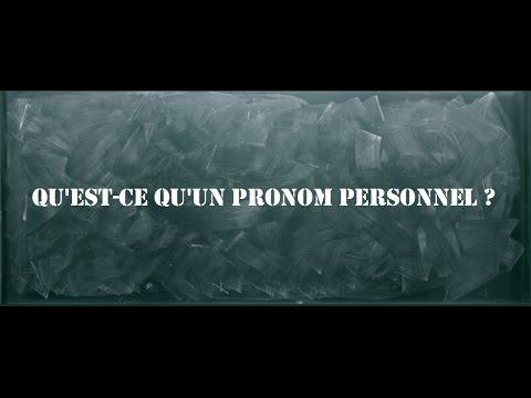 G21 Qu Est Ce Qu Un Pronom Personnel Youtube