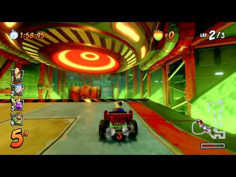 Crash Team Racing Nitro Fueled N. Gin Labs