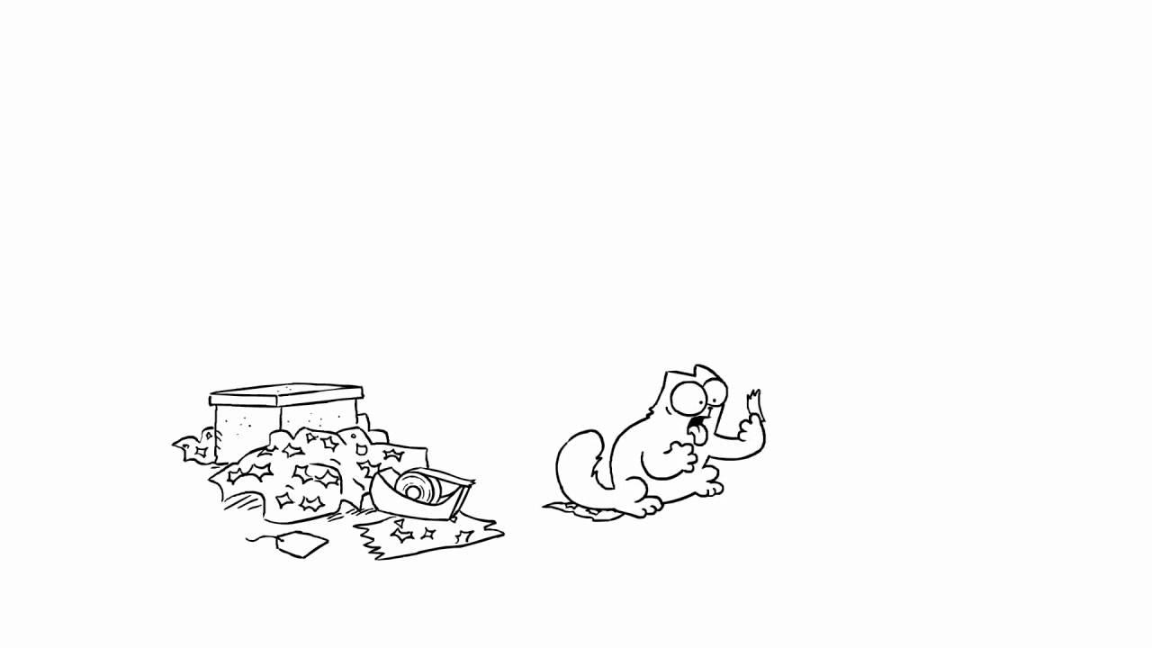 Кот саймона обои на рабочий стол