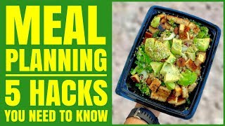 Easy Meal Planning Tips / The 5 Things You Need to Know / Healthy Hacks