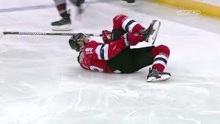 How Concerned Should Devils Be After Travis Zajac Injury? | New Jersey Devils | MSG Networks
