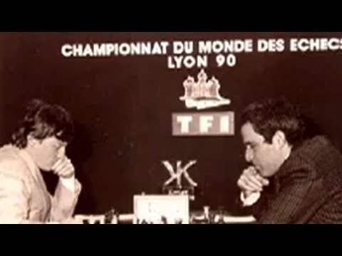 Karpov on his 1990 World Chess Championship with Garry Kasparov