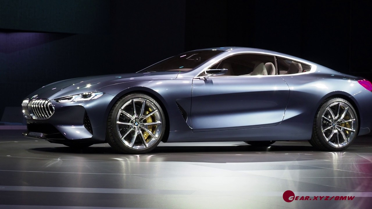 New Bmw Concept 8 Series Unveiling