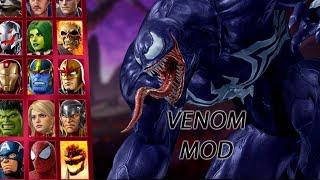 VENOM COLOR & VOICE MOD - Marvel Vs. Capcom: Infinite
