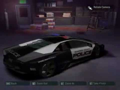 Police Lamborghini Reventon Need For Speed Carbon Mod Download