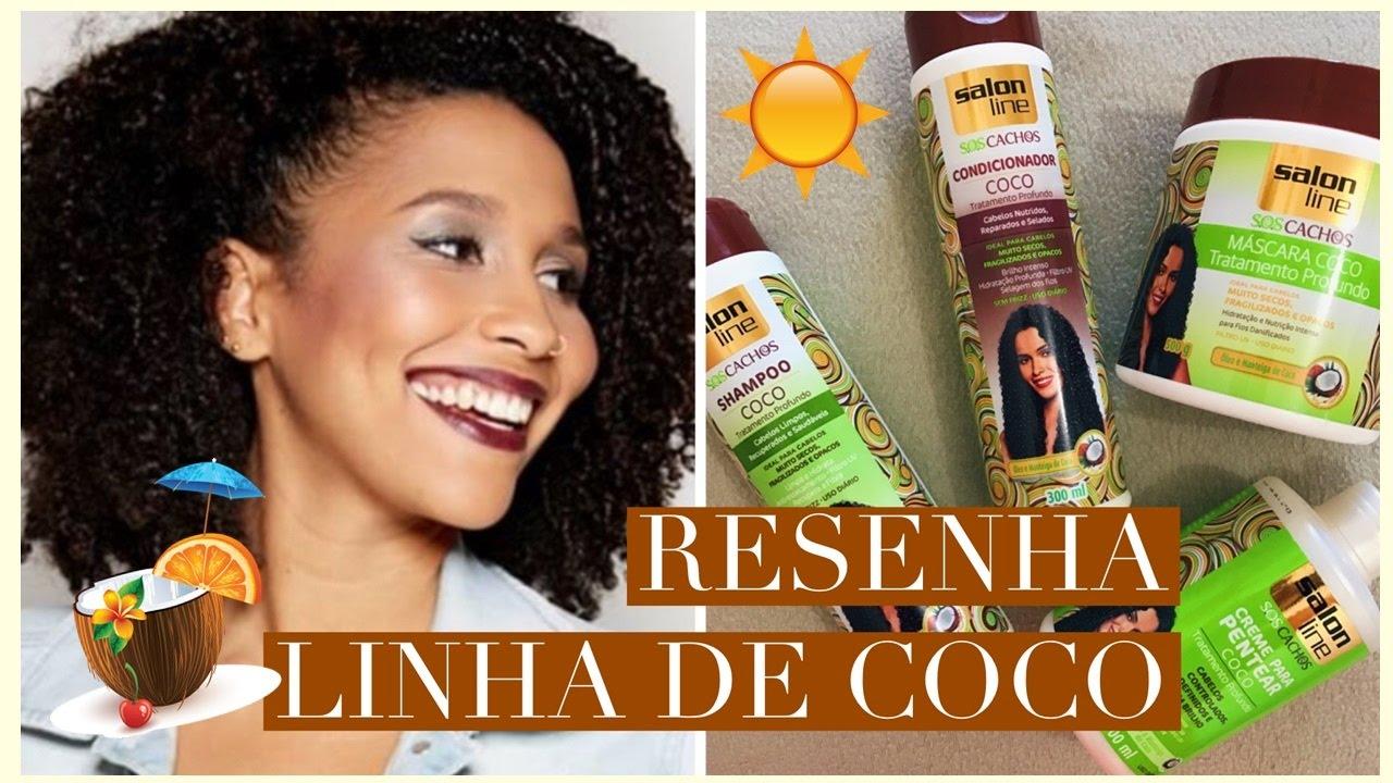 Resenha aplica o linha de coco da salon line youtube for Salon de discussion coco