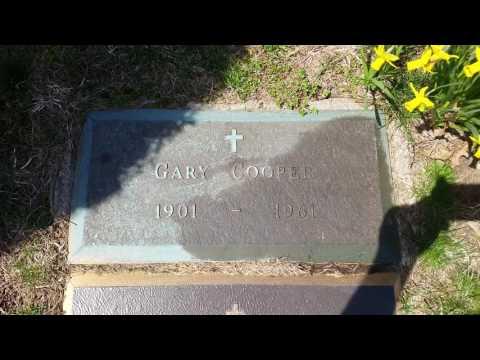 Gary Cooper Grave Site