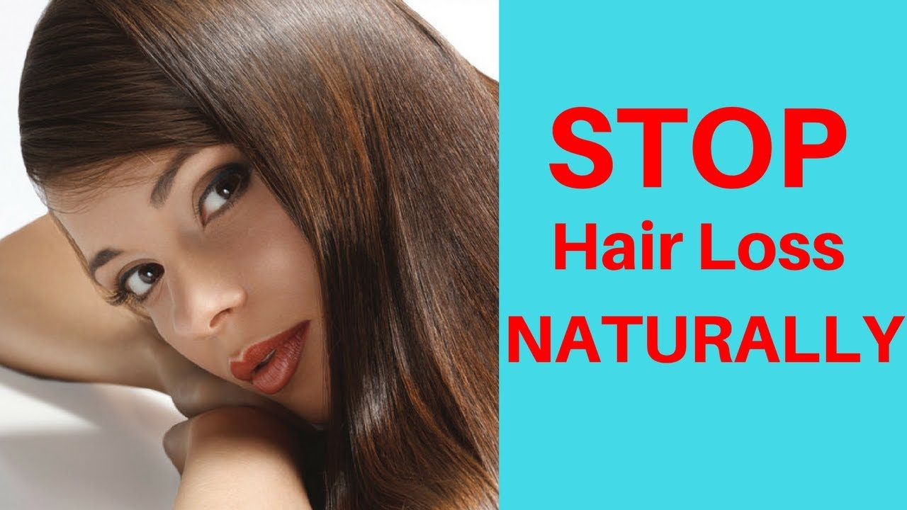 Simple Remedies To Stop Hair Loss How To Block Dht Naturally Youtube
