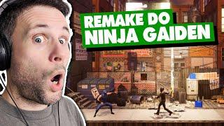 NINJA GAIDEN REMAKE FEITO POR FÃS!!!! (Gameplay em Português PT-BR)