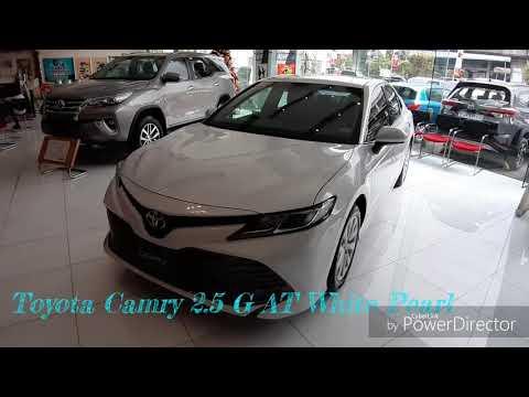 2019 All New Toyota Camry 2 5g White Pearl Walk Around Philippines