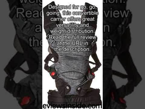 Infantino Fusion Flexible Position Baby Carrier Grey Review Youtube
