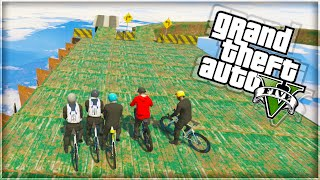 'ANNUAL BIKE FALLING DEATH!' GTA 5 Funny Moments (With The Sidemen)