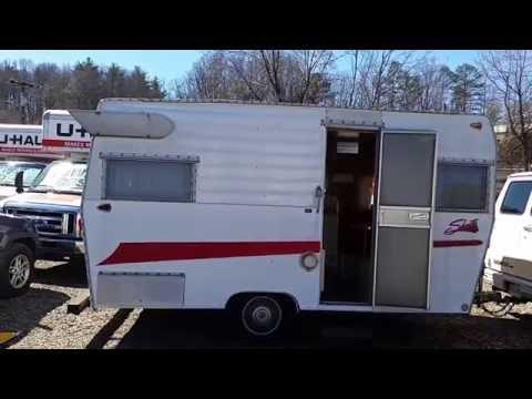 Vintage trailer restoration 1958 Trotwood camper | FunnyDog.TV