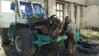 Мы опять в ремонте.Ремонт Двигателя ямз-238 /Moldova