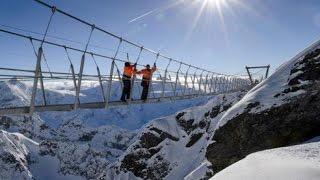quot;Titlis Cliff Walkquot; Europe39;s Highest Suspension Bridge in Switzerland