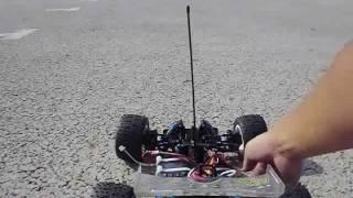 ESC:mambamaxpro Motor:castle 5700KV Battery:3S li-po 4000 40c.