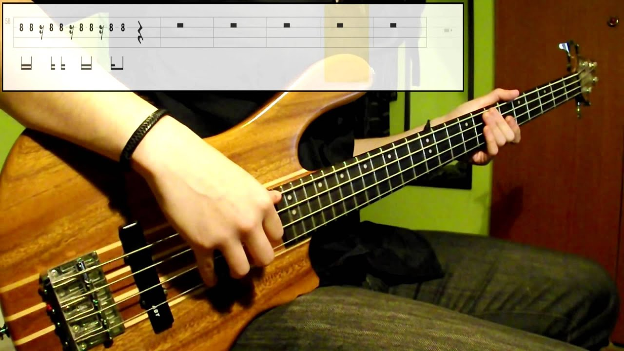 Bruno Mars Treasure Bass Cover Play Along Tabs In Video