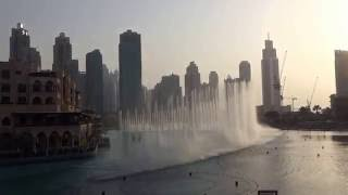 Dubai Fountain is world's tallest and most expensive fountain