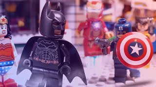 Lego Marvel vs DC Super Heroes