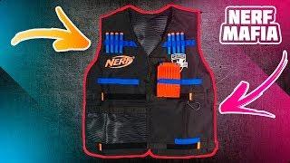 Нёрф Жилет Агента Обзор И Распаковка - Видео от Nerf Mafia