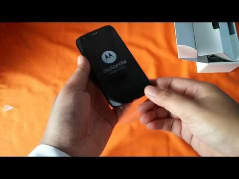 Unboxing Motorola Moto G (Indonesia)