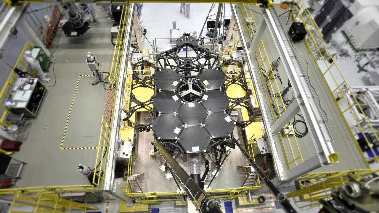 NASA Approves James Webb Space Telescope Mirror Architecture