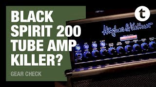The amp of the future? | Hughes & Kettner Black Spirit 200 | Gear Check | Thomann