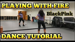 Download Video BLACKPINK - '불장난 (PLAYING WITH FIRE)' - DANCE TUTORIAL PT.1 MP3 3GP MP4