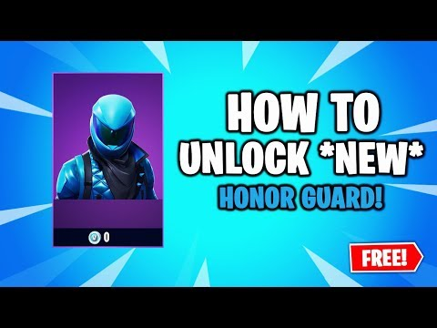 HOW TO GET HONOR GUARD SKIN IN FORTNITE! - *NEW METHOD!* - YouTube