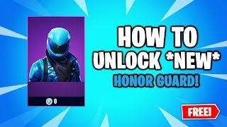 HOW TO GET HONOR GUARD SKIN IN FORTNITE! - *NEW METHOD!*