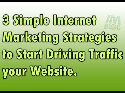 3 Simple Internet Marketing Strategies to Get Free Traffic Online