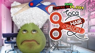 Pear FORCED to Play - Toca Hair Salon
