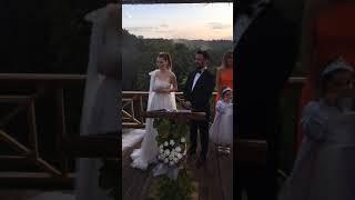 gözde türker wedding 👰🏻♀️ insta live by RustikBahçe