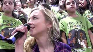 """Hold On"" Emily Kinney ft. PS22 Chorus (by Tom Waits)"