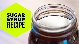 simple syrup coffee