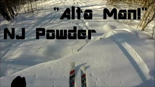 """Alta Man!""- Waist Deep Powder Skiing in New Jersey (GoPro Hero 3+)"