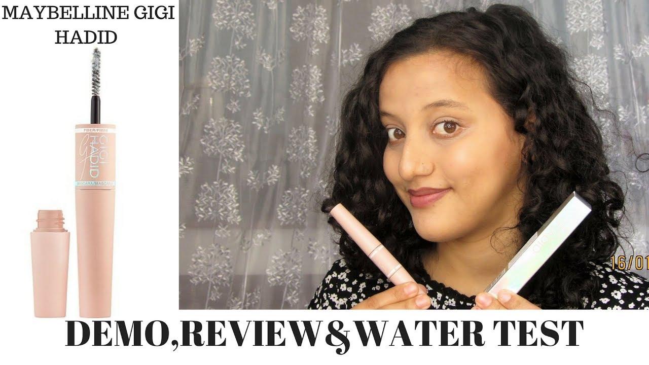 93e1b660e04 Maybelline New York Gigi Hadid Fibre Mascara Demo&Review|India| Honest  Review