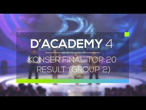 Highlight D'Academy 4 - Konser Final Top 20 Result (Group 2)