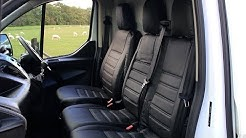 How To Fit Ford Transit Custom (2013 onwards) Seat Covers - J42874