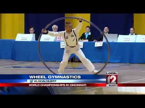 Wheel Gymnastics World Championship happening in Cincinnati