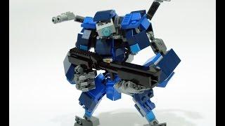 lego nexo knights x titanfall bt 7274 battle suit