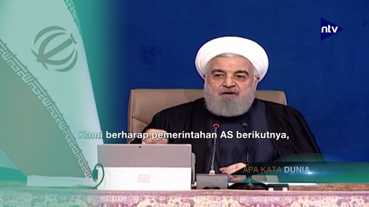 Presiden Iran Samakan Trump dengan 'Kutukan'