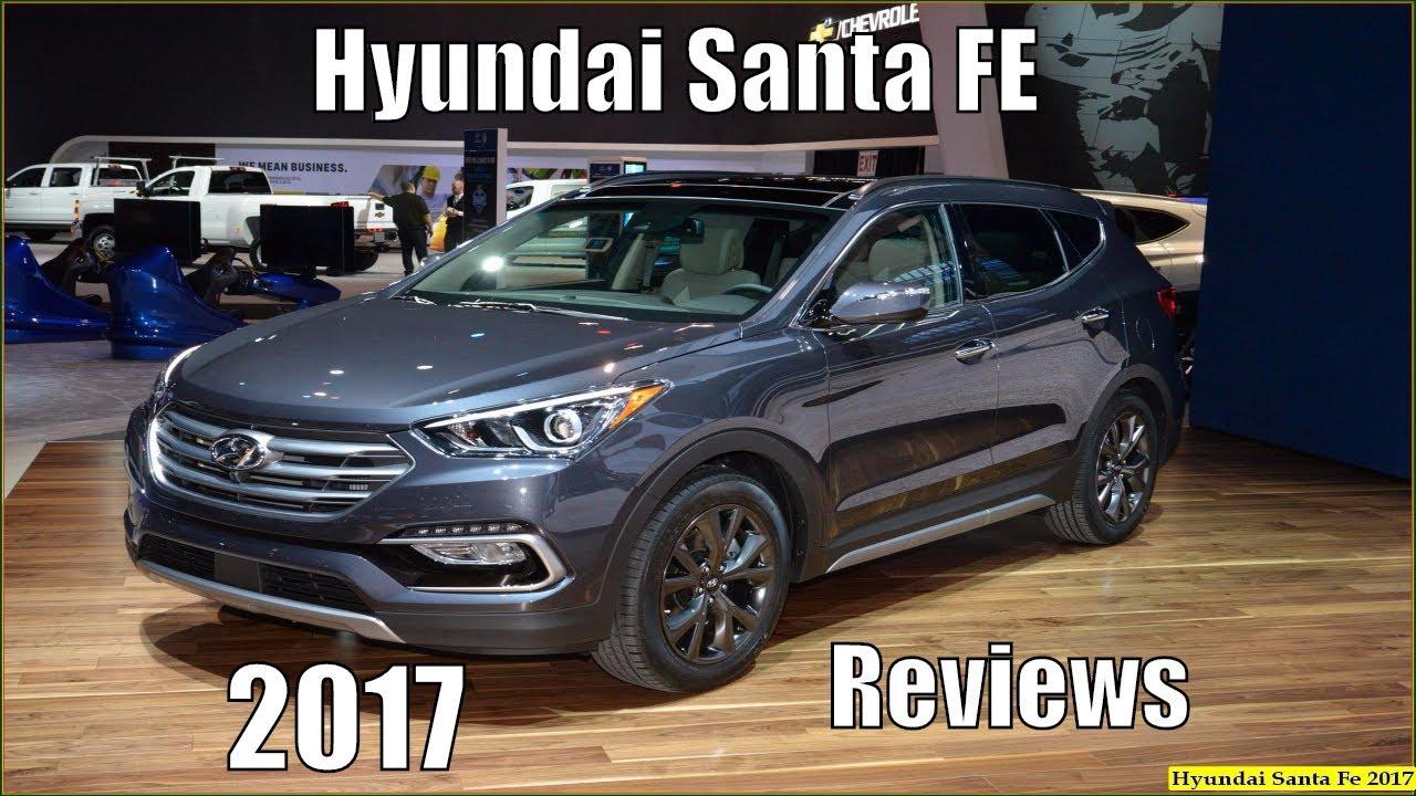 Hyundai Santa Fe 2017 New Sport Reviews And Pics