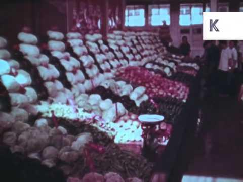 1960s Beijing Market and Street Scenes, China