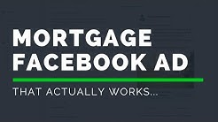 Watch Me Build A Facebook MORTGAGE Ad That Actually WORKS