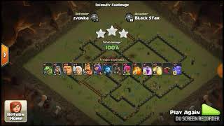 TH9.5. DESTROYED BY TH9,,,,SEE THIS ATTACK ,,,SUPERB ATTACK OF TH9 COC