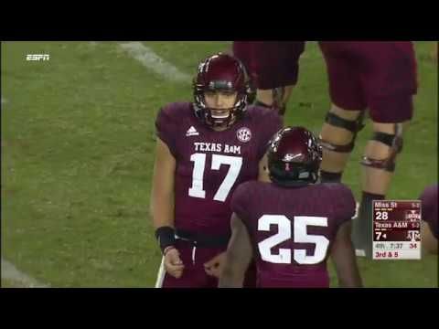 Mississippi State vs Texas A&M NCAA Football Highlights 2017