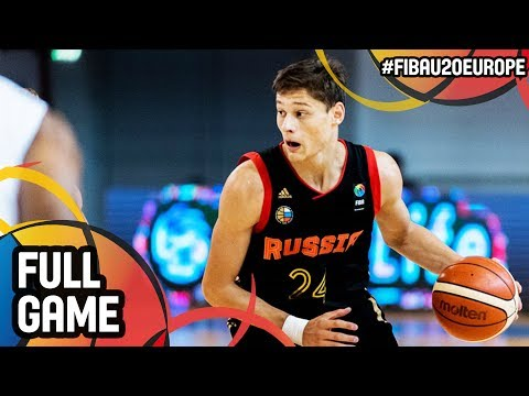 Azerbaijan v Russia - Full Game - FIBA U20 European Championship 2017 - DIV B